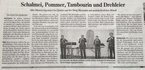 Alta Musica Maienfels Zeitung